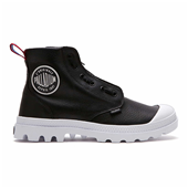 PAMPA HI LEA ZIP TPZ,BLACK/WHITE (W)
