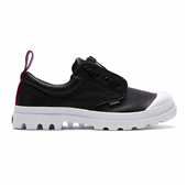 PAMPA OXFORD LEA TPZ,BLACK/WHITE (W)
