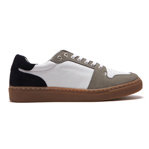 Casual Leather sneakers_Navy (M)