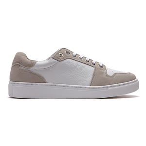Casual Leather sneakers_White (M)