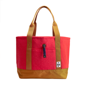 Tote Bag Sweat Nylon M_H-Camellia/Camel