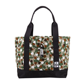 Tote Bag Sweat Nylon M_17F Foot Camo