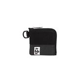 Square Coin Case Sweat Nylon_Black/Charc