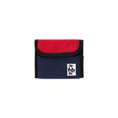 Trifold Wallet Sweat Nylon_H-Navy/Tomato