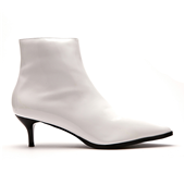 Point Toe Boots_White