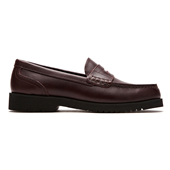 Penny Loafer_Burgandy (MAN)