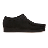 Wallabee_Black Suede (M)