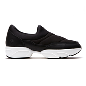 Melting Padding Slip-on_Black (W)