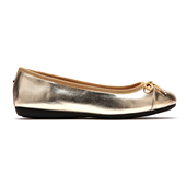Flat Shoes_Gold