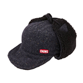 Russian Nep Boa Cap_Black