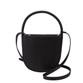 Handy D Shape Tote Bag_Black
