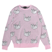 Falling For Nermal Knit Sweater_Pink