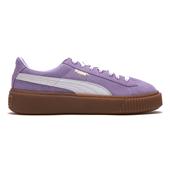 Suede Platform_Purple