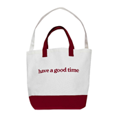 SIDE LOGO 2-WAY TOTE_Red