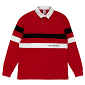 LOGO RUGBY SHIRTS_Red