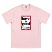 FRAME S/S TEE_Pink