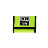 DROP OUT TRI FOLD WALLET_SAFTEY GREEN_SA