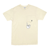 Falling For Nermal Tee_White