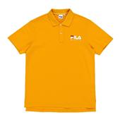 리니어 베이직싱글 넥 셔츠_Yellow