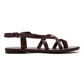 Chloris Sandal_Dark Brown (W)