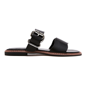 Wave Double Strap Slide_Black(W)
