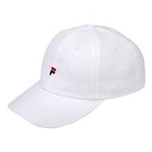F LOGO CAP White