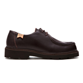 Tirolean Shoes_Dark Brown