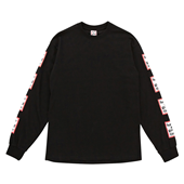 ARM FRAME L/S TEE_Black