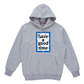 BLUE FRAME PULLOVER HOODIE_Gray