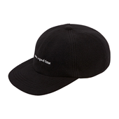 FLEECE 6 PANEL CAP_Black