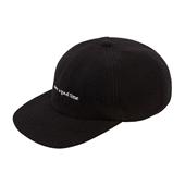 FLEECE 6 PANEL CAP_Black