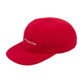 FLEECE 6 PANEL CAP_Red