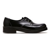 Oxford Shoes PU 4902 BLACK W (W)