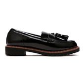 Tassle Loafer_Black (W)