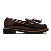 Tassle Loafer_Burgundy (W)