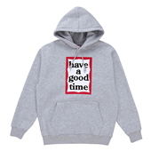 FRAME PULLOVER HOODIE_Gray