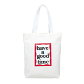 FRAME TOTE BAG_White