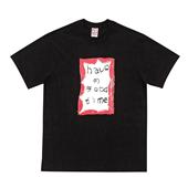 Crayon Frame S/S Tee_BLACK