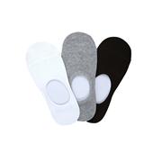 Fake socks Set_Black,White,Grey