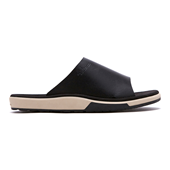 SLIDE LEATHER_BLACK