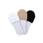MULE SOCKS White Beige Black -set