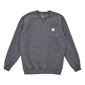 Crewneck Pocket Sweatshirt