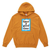 BLUE FRAME PULLOVER HOODIE