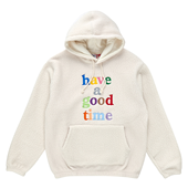 COLORFUL LOGO FLEECE PULLOVER HOODIE