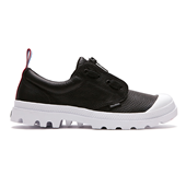 PAMPA OXFORD LEA TPZ,BLACK/WHI (M)