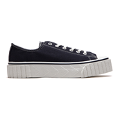 WA-KE-ME Lace up_Navy